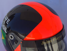 Load image into Gallery viewer, Emerson Fittipaldi 1973 Replica Helmet