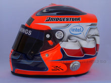 Load image into Gallery viewer, Robert Kubica 2009 Replica Helmet