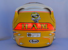 Load image into Gallery viewer, Lewis Hamilton 2012 TEXAS GP Replica Helmet