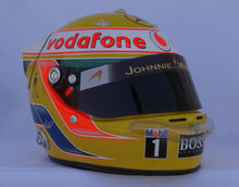 Load image into Gallery viewer, Lewis Hamilton 2010 Replica Helmet