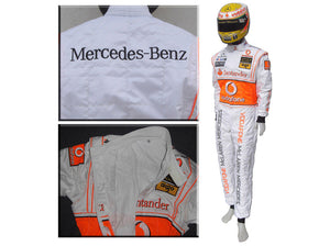 Lewis Hamilton 2010 Replica Racing Suit
