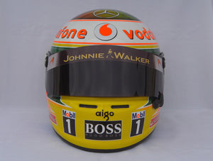Lewis Hamilton 2011 INDIAN GP Replica Helmet