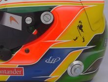 Load image into Gallery viewer, Lewis Hamilton 2011 INDIAN GP Replica Helmet