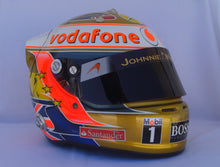 Load image into Gallery viewer, Lewis Hamilton 2012 SILVERSTONE GP Replica Helmet