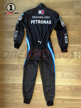 Load image into Gallery viewer, Lewis Hamilton 2020 Replica Racing Suit Black Lives Matter