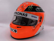 "Load image into Gallery viewer, Lewis Hamilton 2019 MONACO GP ""LAUDA TRIBUTE"" Replica Helmet"