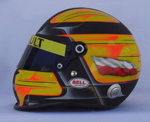 Load image into Gallery viewer, Robert Kubica 2010 Replica Helmet