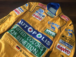 Michael Schumacher 1992 Replica Racing Suit