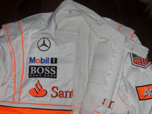 Load image into Gallery viewer, Jenson Button 2010 Replica Racing Suit