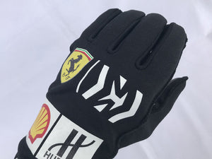 Sebastian Vettel 2019 Mission Winnow Replica Racing Gloves