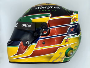 Lewis Hamilton 2016 INTERLAGOS GP Replica Helmet