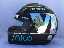 "Load image into Gallery viewer, Nico Rosberg 2016 ""CHROME PLATED"" Replica Helmet"