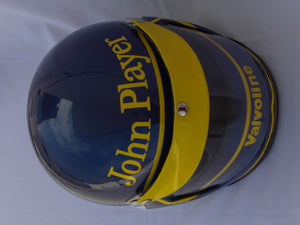 Ronnie Peterson 1974 Replica Helmet