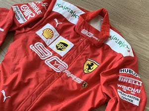 Charles Leclerc 2019 Ferrari 90 YEARS Replica Racing Suit