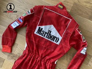 Michael Schumacher 2001 Replica Racing Suit