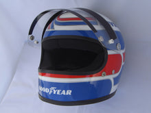Load image into Gallery viewer, Peter Revson 1973 Replica Helmet
