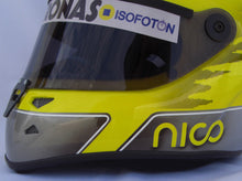Load image into Gallery viewer, Nico Rosberg 2013 Replica Helmet