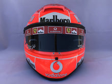 Load image into Gallery viewer, Michael Schumacher 2004 MONZA GP Replica Helmet