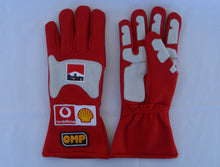 Load image into Gallery viewer, Michael Schumacher 2004 Replica Racing Gloves