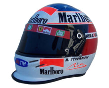 "Load image into Gallery viewer, Michael Schumacher 2000 ""WHITE"" Replica Helmet"