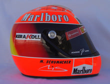 Load image into Gallery viewer, Michael Schumacher 2002 Replica Helmet