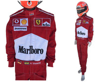 Load image into Gallery viewer, Michael Schumacher 2004 Replica Racing Suit
