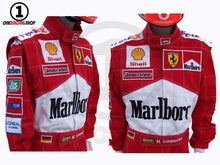 Load image into Gallery viewer, Michael Schumacher 2001 Replica Racing Suit