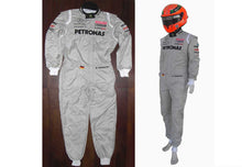 Load image into Gallery viewer, Michael Schumacher 2011 Replica Racing Suit