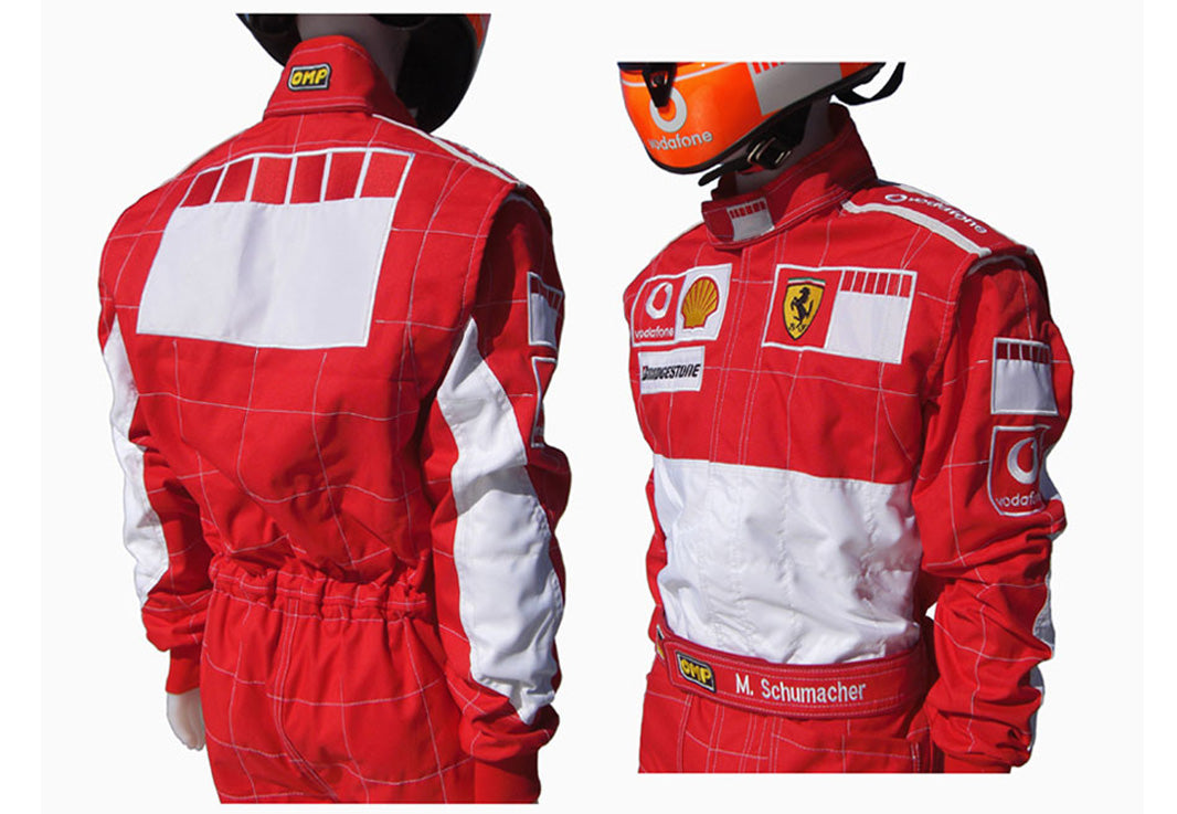 Michael Schumacher 2006 BAR CODE Replica Racing Suit