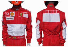 Load image into Gallery viewer, Michael Schumacher 2006 BAR CODE Replica Racing Suit
