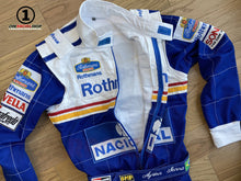 Load image into Gallery viewer, Ayrton Senna 1994 Replica Racing Suit