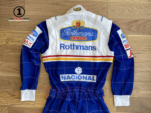 Ayrton Senna 1994 Replica Racing Suit