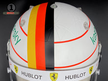 Load image into Gallery viewer, Sebastian Vettel 2020 Schumacher Tribute Replica Helmet