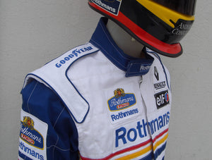 Damon Hill 1997 Replica Racing Suit