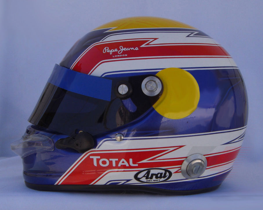 Mark Webber 2010 Replica Helmet