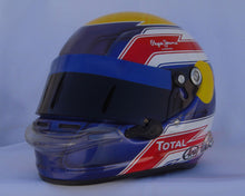 Load image into Gallery viewer, Mark Webber 2010 Replica Helmet
