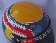 Load image into Gallery viewer, Mark Webber 2012 Replica Helmet