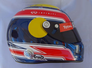 Mark Webber 2013 Replica Helmet