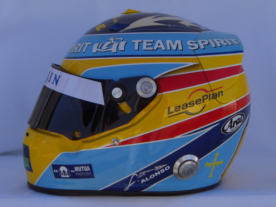 Fernado Alonso 2006 TEAM SPIRIT Replica Helmet
