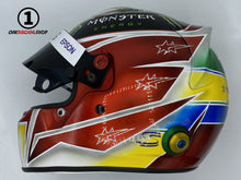 Load image into Gallery viewer, Lewis Hamilton 2019 Brazil GP Replica Helmet