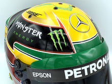 Load image into Gallery viewer, Lewis Hamilton 2016 INTERLAGOS GP Replica Helmet