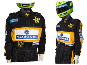 Ayrton Senna 1985 Replica Racing Suit