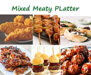 Celebrate with a mixed Meaty Platter(90 pieces)