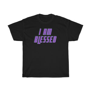 Unisex Heavy Cotton Tee - I am Blessed