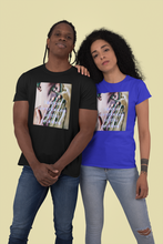 Load image into Gallery viewer, Unisex Heavy Cotton Tee - silence contributes to the problem