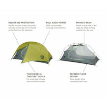 Load image into Gallery viewer, Nemo Firefly 2 Person Backpacking Tent