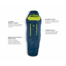 Load image into Gallery viewer, Nemo Forte Mens 20 Reg Sleeping Bag - The Trip Shed