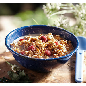 Raspberry and Vanilla Granola - The Trip Shed
