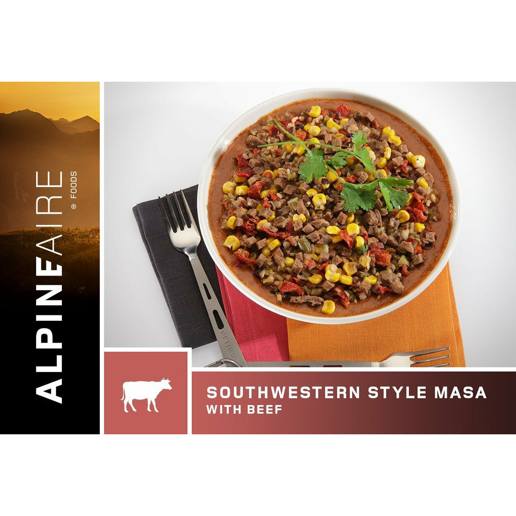 Southwestern Style Masa with Beef - The Trip Shed