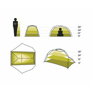 Nemo Firefly 2 Person Backpacking Tent